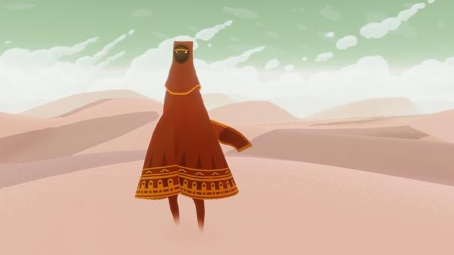 The desert traveler you play as.