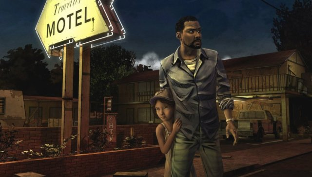 Lee and Clementine, the main protagonists