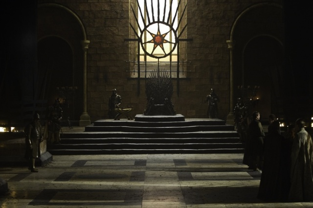 The Iron Throne of Westeros, in the light of the Seven